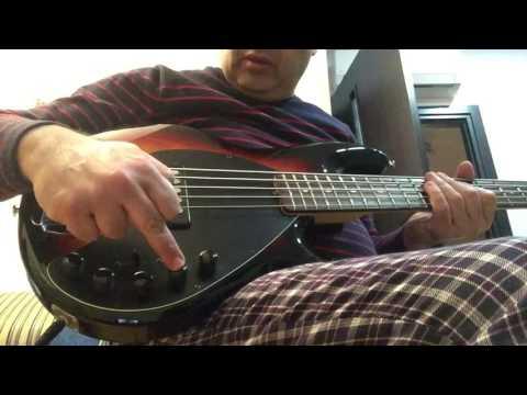 Gagik Toroyan:Music Man Stingray 5H with piezo demo