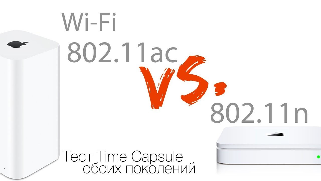 Полный обзор AirPort Extreme (Time Capsule) 2013. Wi-Fi