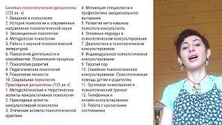 Анна Фам. Заочная программа пов. квалификации. Общая психология