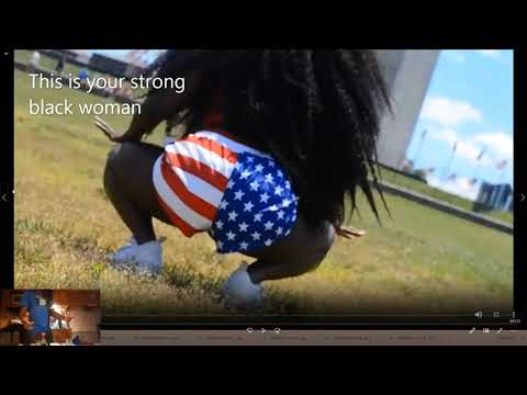 Black Lives Matter supports woman Twerking on Washington for MLK day ???♂️