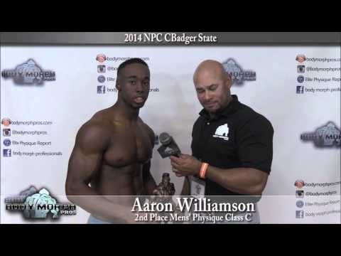 Aaron Williamson at the 2014 NPC Badger State