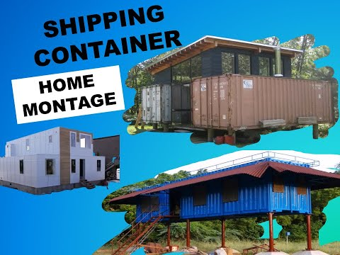 Shipping Container Home-18 Home Montage