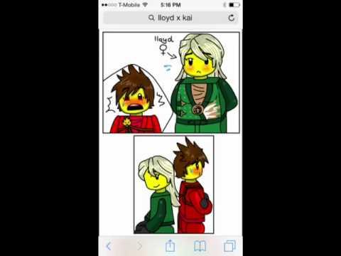 Lloyd x kai youtube - Ninjago lloyd and kai ...