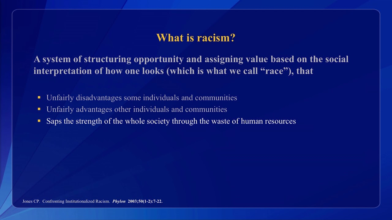 aversive racism and inequality in health care A new pbs documentary series explores the complicated and controversial connection between social inequality and health figuring out how the interplay of race, socioeconomic status, schooling and other environmental factors influences our health is a complicated challenge.