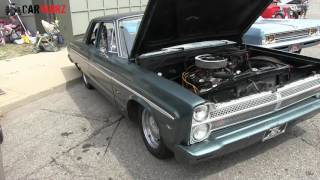 1965 Plymouth Fury II At Woodward Dream Cruise 2016