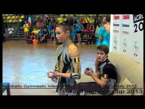 1st Turin Acrocup   Acrobatic Gymnastic International Cup   Day 3   part 4