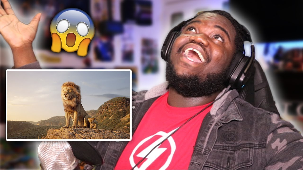 the lion king 2019 official trailer reaction