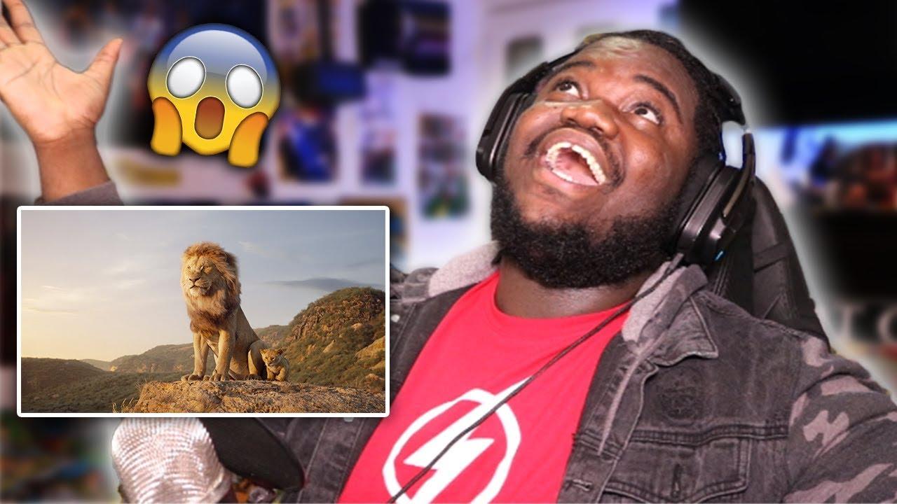 lion king  2019  - official trailer   reaction