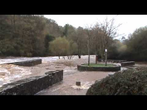 Flooding in Omagh - 25/10/2011