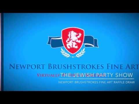 Newport Brushstrokes Fine Art Inc Jewish Party Show Montreal Canada Raffle Draw