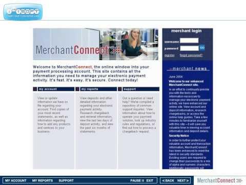 Virtual Merchant Merchant Account Reporting