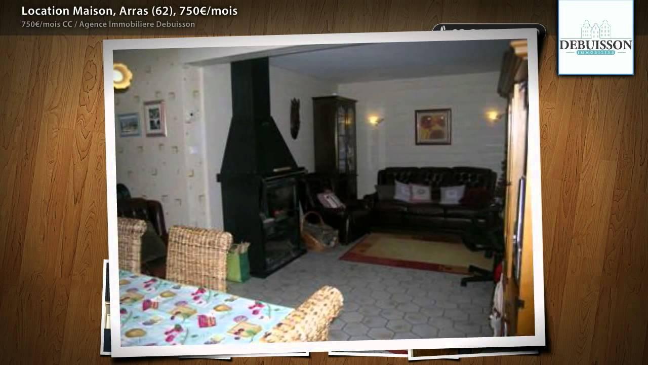 Location maison arras 62 750 mois youtube for Salon immobilier arras