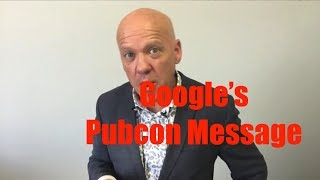 Google at Pubcon Vegas 2017