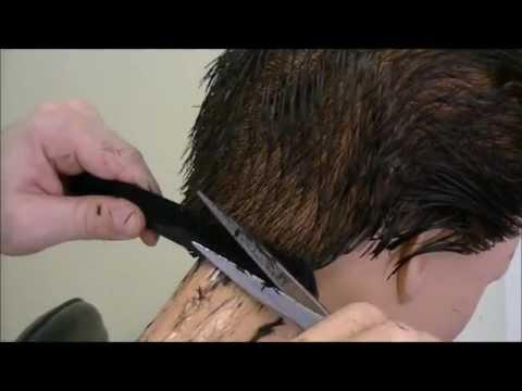 In depth scissor over comb