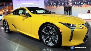 2019 Lexus LC 500 - Exterior Walkaround - 2019 New York Auto Show