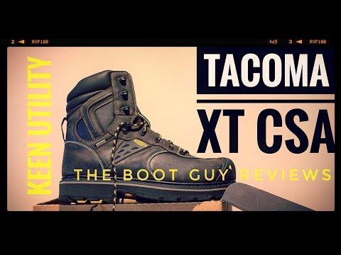 KEEN Utility TACOMA XT CSA  The Boot Guy Reviews