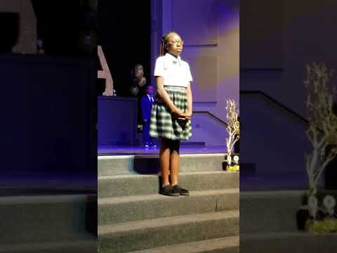 Tribute to Dr. Martin Luther King by Deeper Root Academy 4th Grade Students