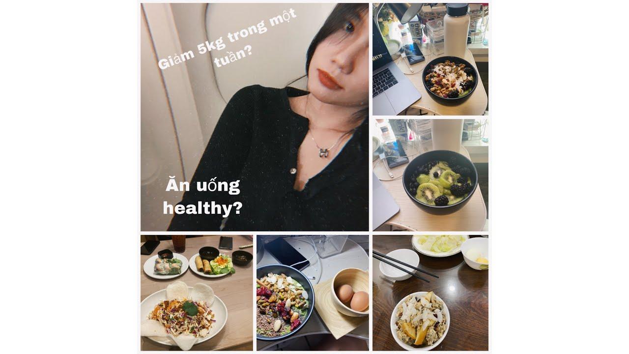[ENG SUB] HÀNH TRÌNH GIẢM CÂN: Giảm 3kg trong vòng 1 tuần? ĂN UỐNG TẬP LUYỆN HEALTHY? | MỠ MỠ 😱