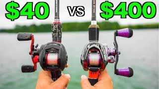 CHEAP vs EXPENSIVE Fishing Reel CHALLENGE!!!