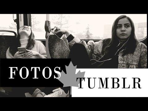 CREANDO FOTOS TUMBLR EN CANADA ft. MADELEINE - MadKim