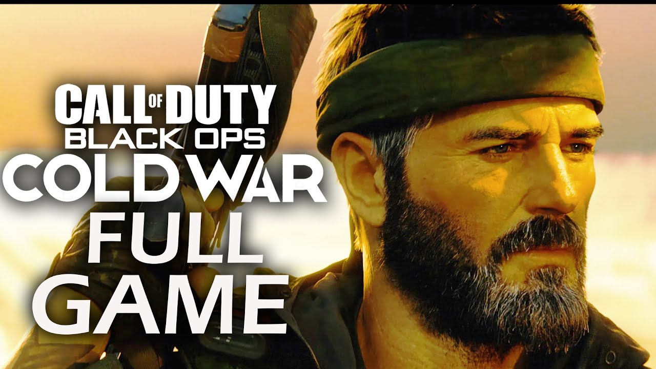 CALL OF DUTY COLD WAR Gameplay Walkthrough Part 1 – FULL GAME (No Commentary)