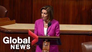 Nancy Pelosi criticizes Trump comments, calls them 'racist' and 'shameful'