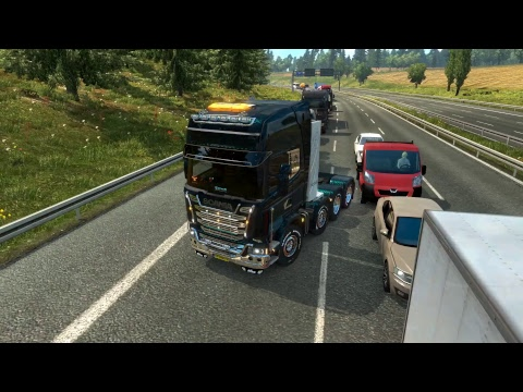 Cruisin' with Danté ... ETS2 Special Transport to Hannover (D) - Guidance vehicle error!! :(