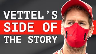 Vettel Admits What Went Wrong at Sochi