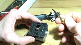 ремонт переключателя поворотов и ближнего дальнего света Лада Калина. Своими руками