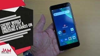 Cherry Mobile Omega Lite 4 Unboxing and Hands-On