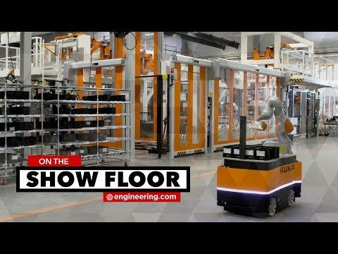 Robots on the Move: KUKA Autonomous Mobile Robots Can Drive Around a Factory