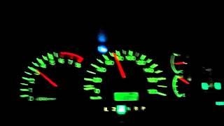 三菱デリカスペースギアV6ー3000!フル加速!0~100!17.5秒・・・(;_;)