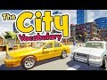 The city in English for kids - Vocabulary of the city