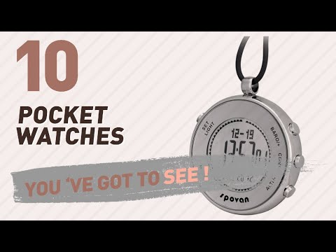 Digital Pocket Watches // New & Popular 2017