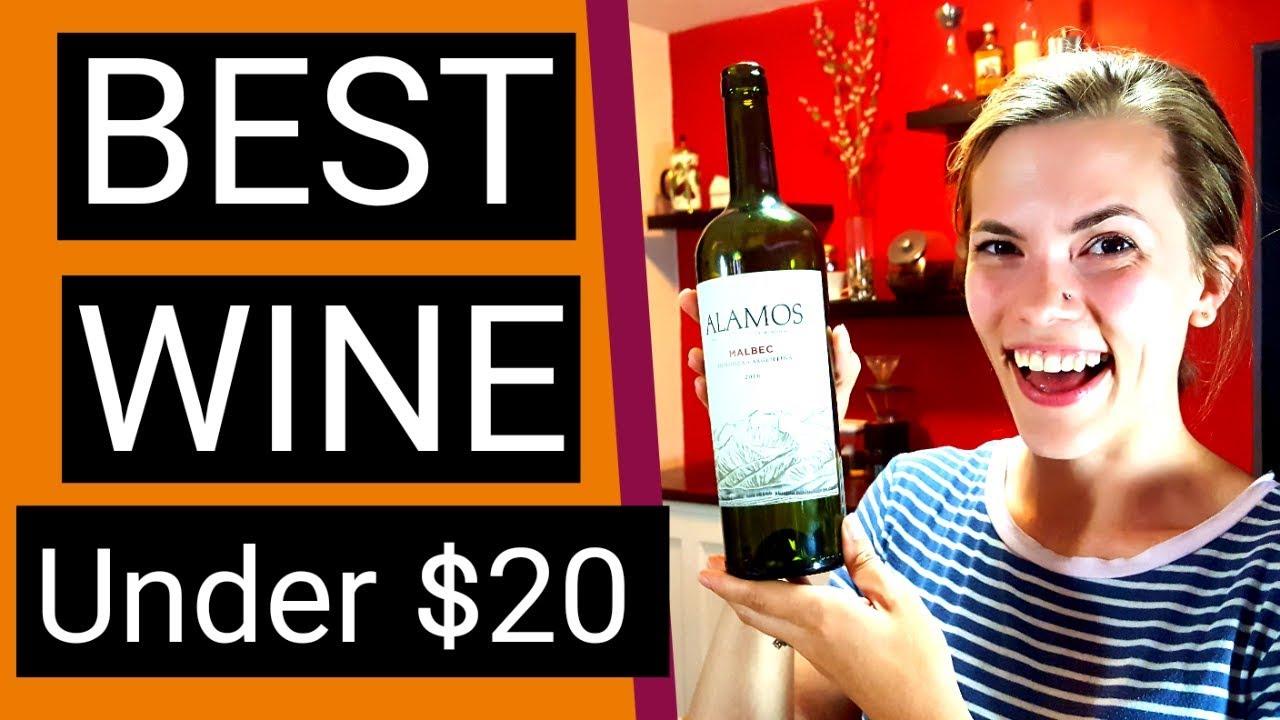 Best Wine Under 20 2016 Malbec Review Alamos Vineyards Argentina Youtube