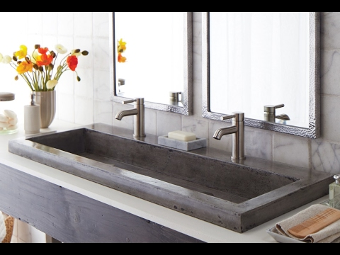 Fantastic Concrete Trough Sinks Ideas