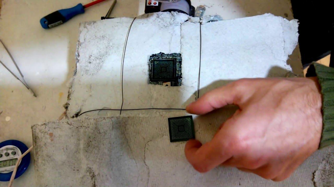 Заменить северный мост в ноутбуке своими руками