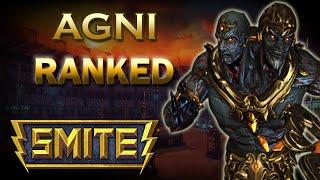SMITE! Agni Mid, Fuego infernal!! Conquest Master #9