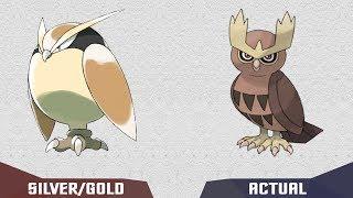 Pokedex GEN 2 Johto How Pokemon would be Pokémon Gold/Silver