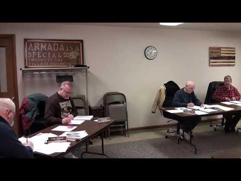 VILLAGE OF ARMADA COUNCIL MEETING (03-23-2020)