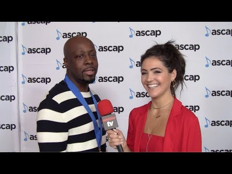 Wyclef Jean Interview 35th Annual ASCAP Pop Music Awards Red Carpet