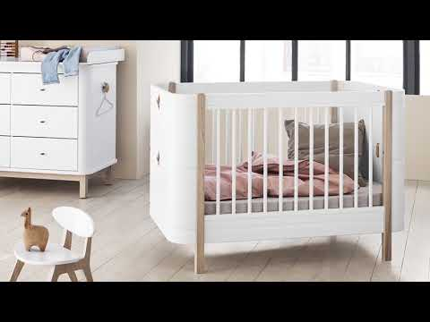 Oliver Furniture Wood Mini+ Transformable Cot Bed