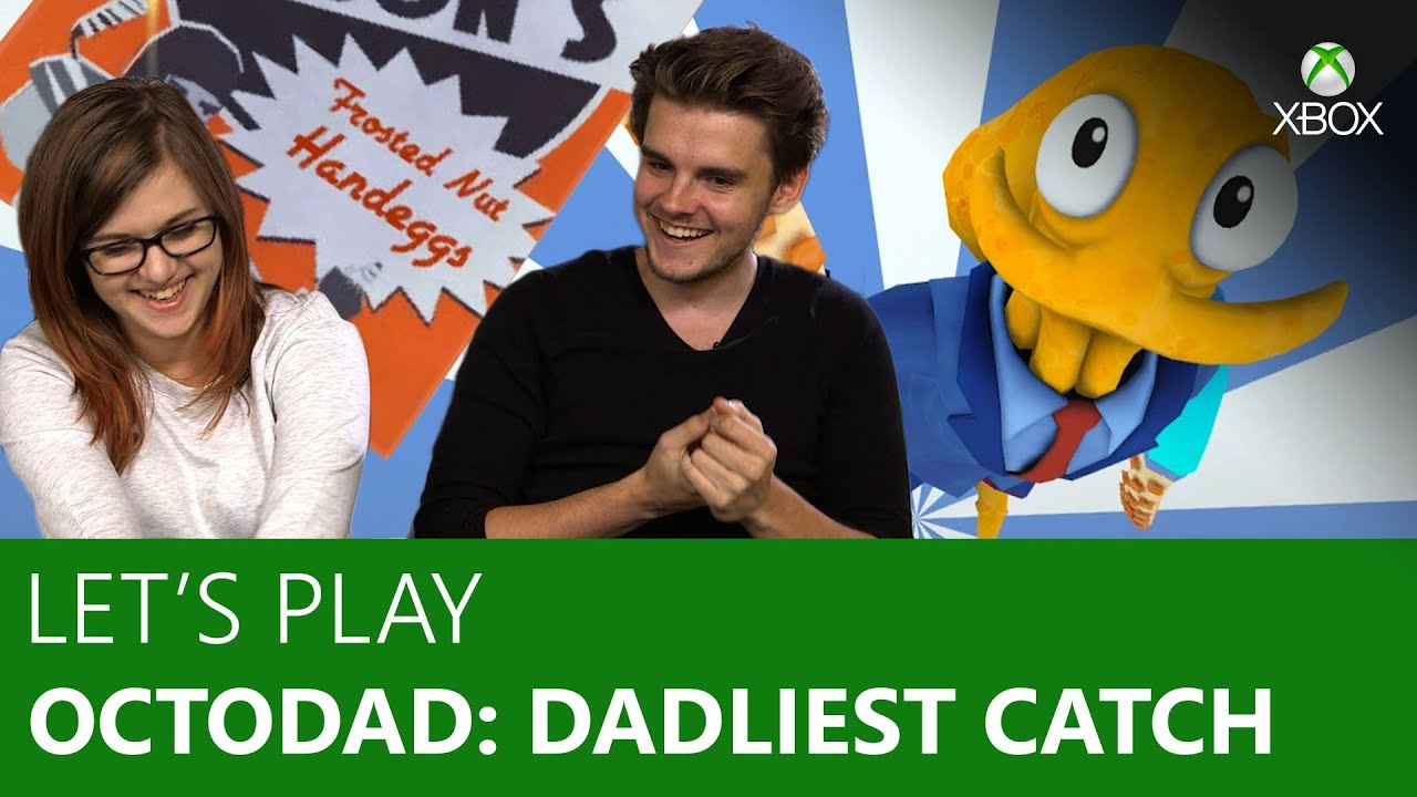 lets play octodad dadliest catch co op madness xbox on youtube
