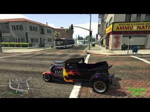 GTA 5 - Halloween DLC - 2 NEW CARS!!