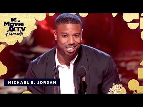 Michael B. Jordan Accepts the Award for Best Villain  2018 MTV Movie & TV Awards