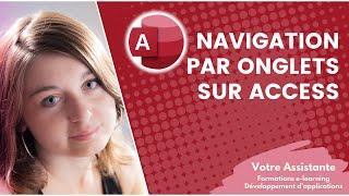 Ajouter une navigation par onglets sur un formulaire Access