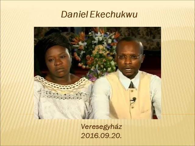 Daniel  Ekechukwu  III. rész