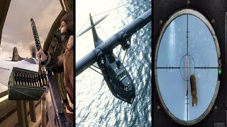 All WW2 Call of Duty Plane Missions (Evolution of Plane Missions in Call of Duty)