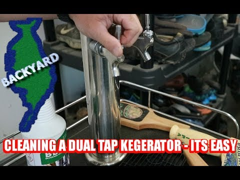 How to clean a Dual Tap Kegerator
