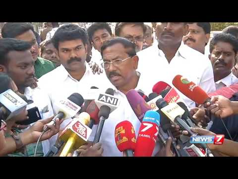 O Pannerselvam is an interim chief minister : Minister Pandiarajan | News7 Tamil